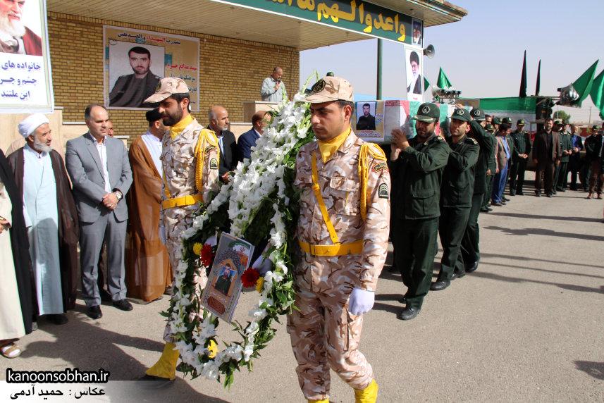 تصاویر تشییع و تدفین شهید والامقام «حاج قدرت الله عبدیان» سری اول (10)