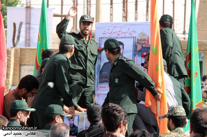 تصاویر تشییع و تدفین شهید والامقام «حاج قدرت الله عبدیان» سری اول (17)