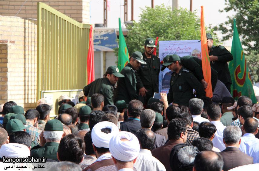 تصاویر تشییع و تدفین شهید والامقام «حاج قدرت الله عبدیان» سری اول (20)