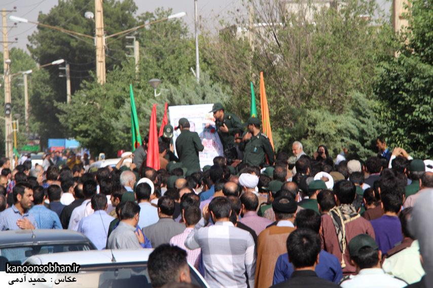 تصاویر تشییع و تدفین شهید والامقام «حاج قدرت الله عبدیان» سری اول (23)