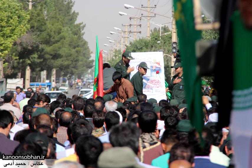 تصاویر تشییع و تدفین شهید والامقام «حاج قدرت الله عبدیان» سری اول (25)