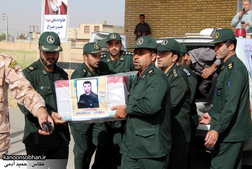 تصاویر تشییع و تدفین شهید والامقام «حاج قدرت الله عبدیان» سری اول (3)