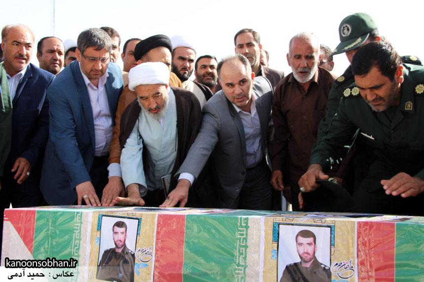 تصاویر تشییع و تدفین شهید والامقام «حاج قدرت الله عبدیان» سری اول (4)