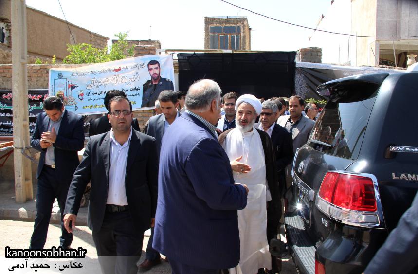 تصاویر دیدار استاندار لرستان و دیگر مسئولین با خانواده شهید مدافع حرم در کوهدشت (16)