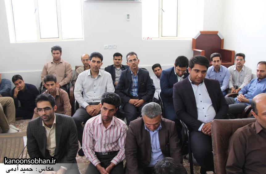 تصاویر دیدار کارکنان دستگاه قضا کوهدشت با امام جمعه شهرستان (9)
