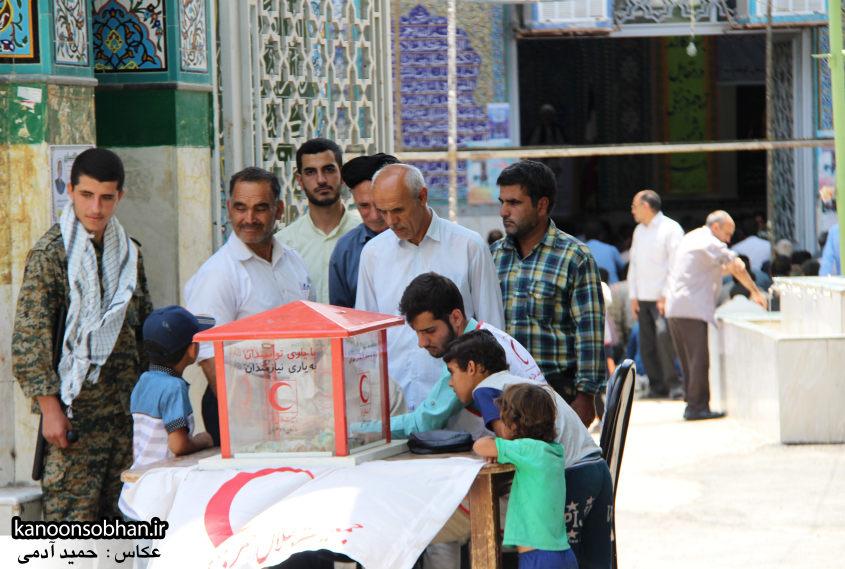 تصاویر سومین نماز جمعه رمضان 95 کوهدشت (1)