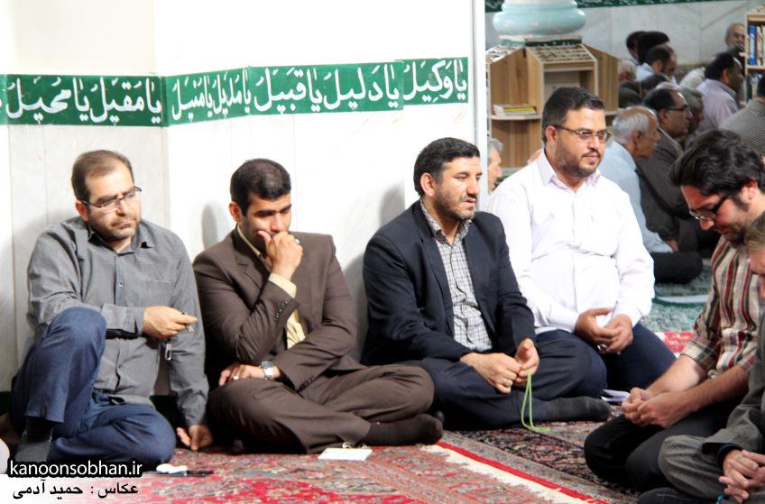 تصاویر مراسم ترحیم «حاج قربانعلی قبادی» خادم القرآن کوهدشتی (14)
