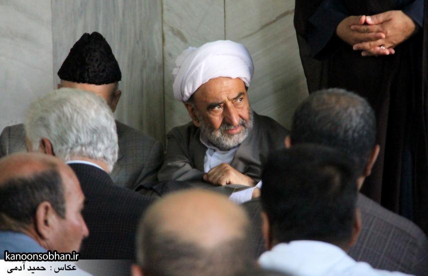 تصاویر مراسم ترحیم «حاج قربانعلی قبادی» خادم القرآن کوهدشتی (2)