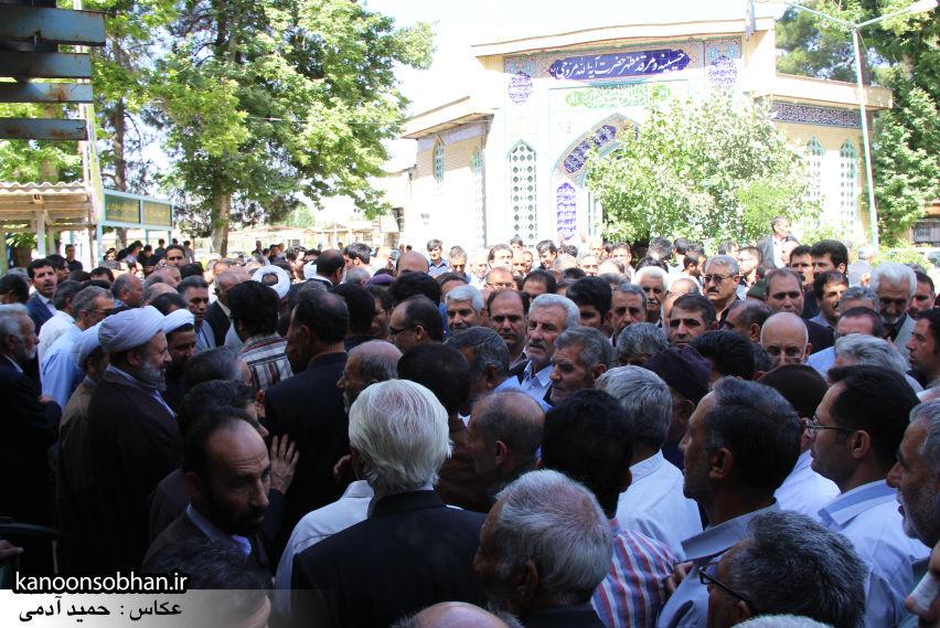 تصاویر مراسم خاکسپاری «حاج قربانعلی قبادی» خادم القرآن کوهدشتی (15)