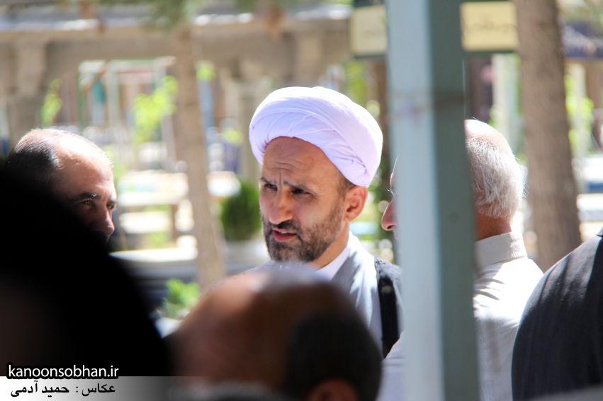 تصاویر مراسم خاکسپاری «حاج قربانعلی قبادی» خادم القرآن کوهدشتی (19)