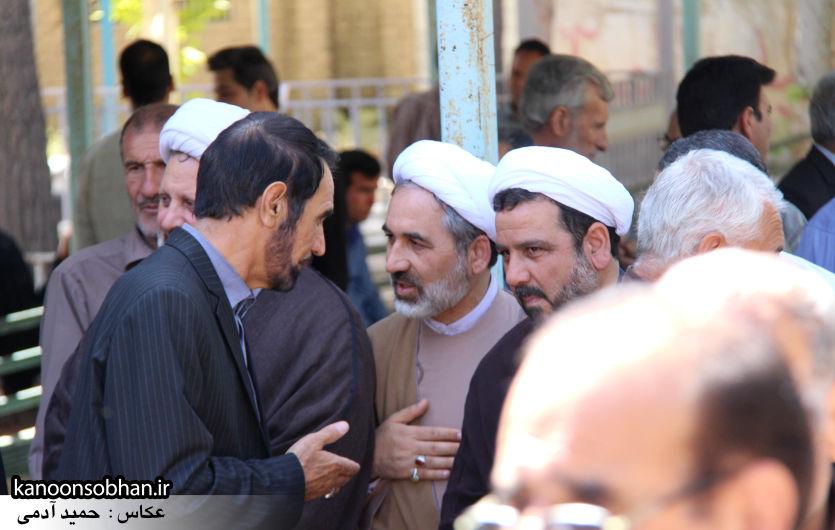 تصاویر مراسم خاکسپاری «حاج قربانعلی قبادی» خادم القرآن کوهدشتی (25)