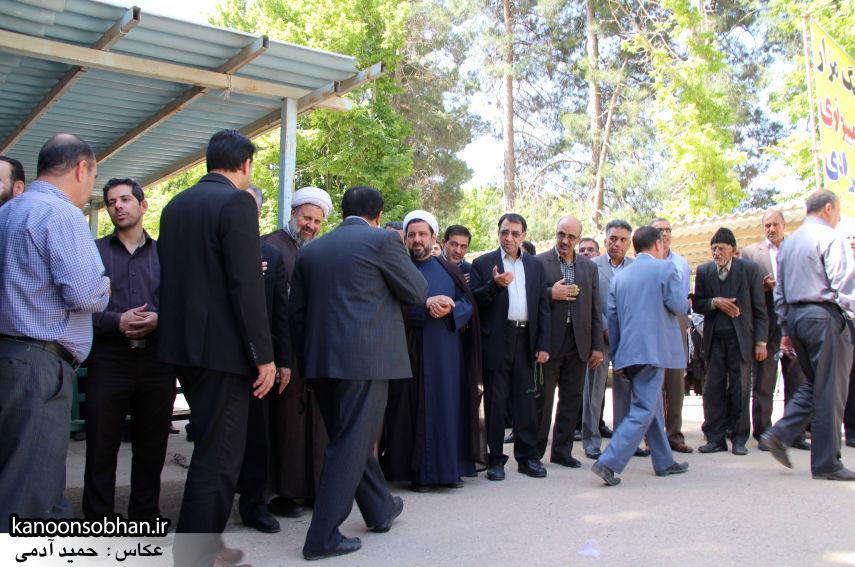 تصاویر مراسم خاکسپاری «حاج قربانعلی قبادی» خادم القرآن کوهدشتی (26)