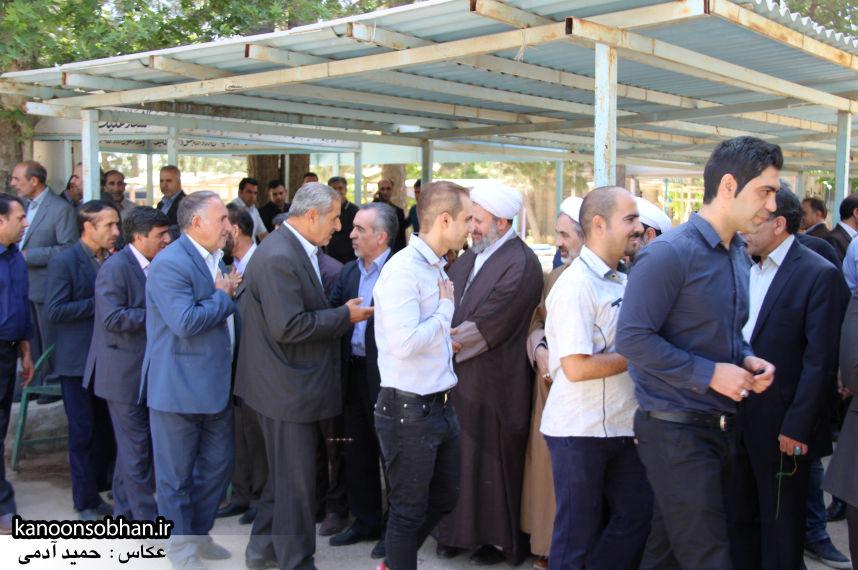 تصاویر مراسم خاکسپاری «حاج قربانعلی قبادی» خادم القرآن کوهدشتی (28)