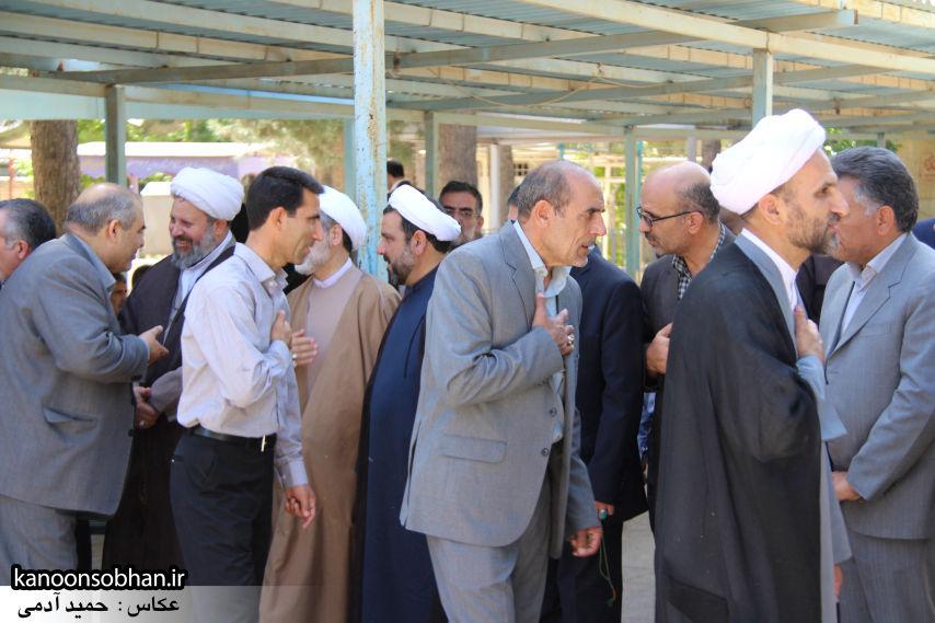 تصاویر مراسم خاکسپاری «حاج قربانعلی قبادی» خادم القرآن کوهدشتی (33)