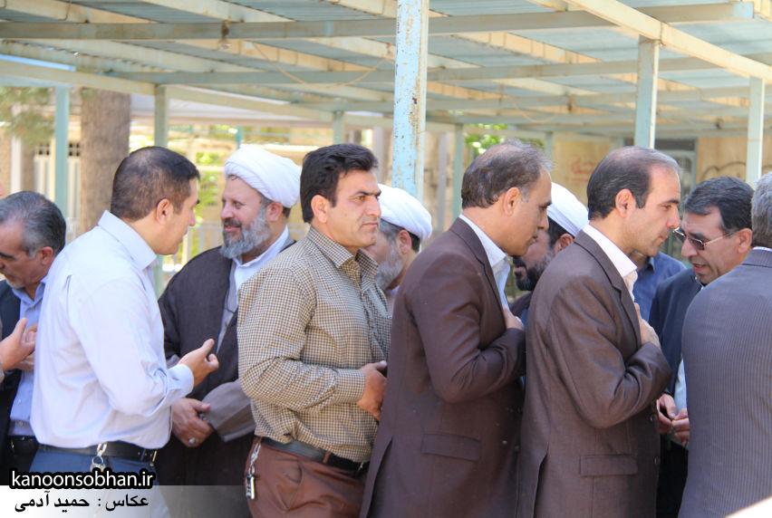 تصاویر مراسم خاکسپاری «حاج قربانعلی قبادی» خادم القرآن کوهدشتی (37)