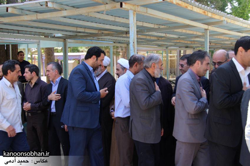 تصاویر مراسم خاکسپاری «حاج قربانعلی قبادی» خادم القرآن کوهدشتی (38)