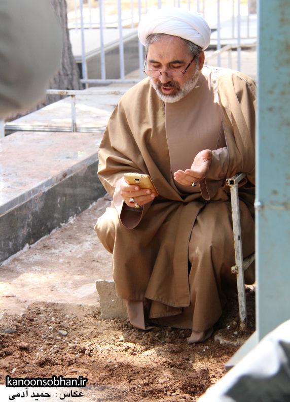 تصاویر مراسم خاکسپاری «حاج قربانعلی قبادی» خادم القرآن کوهدشتی (42)