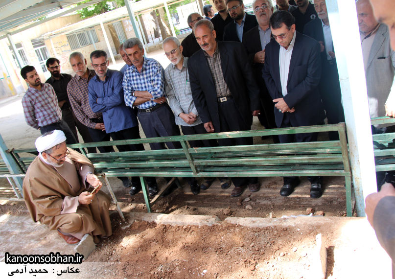 تصاویر مراسم خاکسپاری «حاج قربانعلی قبادی» خادم القرآن کوهدشتی (43)