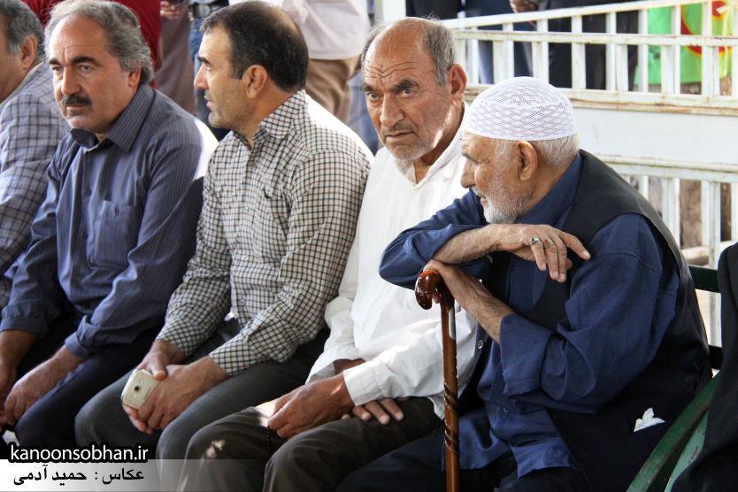 تصاویر مراسم خاکسپاری «حاج قربانعلی قبادی» خادم القرآن کوهدشتی (6)