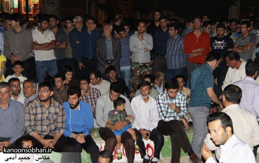 تصاویر مراسم شبی با شهدا و وداع با پیکر شهید والامقام «حاج قدرت الله عبدیان» (11)