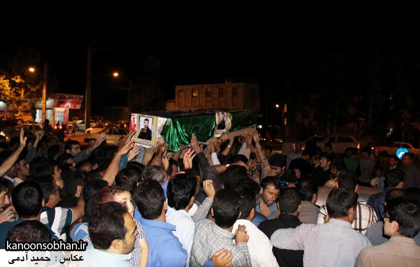 تصاویر مراسم شبی با شهدا و وداع با پیکر شهید والامقام «حاج قدرت الله عبدیان» (15)