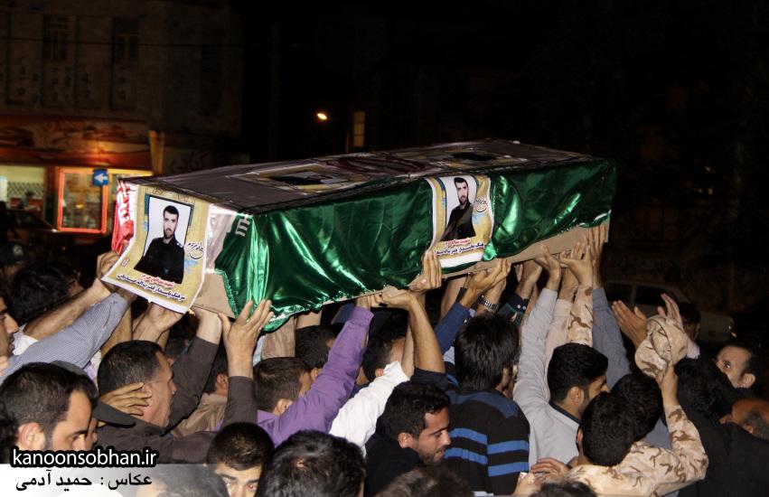 تصاویر مراسم شبی با شهدا و وداع با پیکر شهید والامقام «حاج قدرت الله عبدیان» (16)