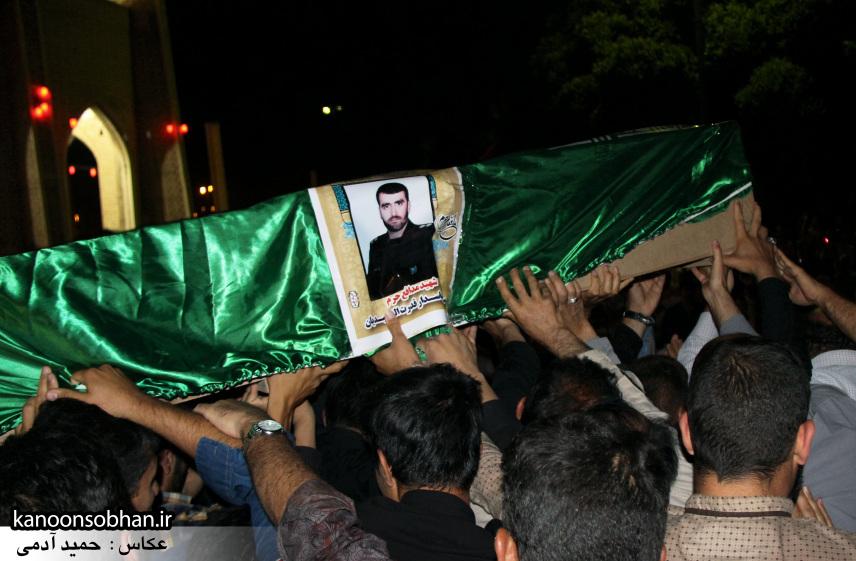 تصاویر مراسم شبی با شهدا و وداع با پیکر شهید والامقام «حاج قدرت الله عبدیان» (18)
