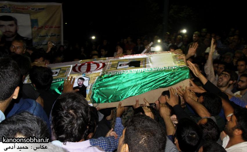 تصاویر مراسم شبی با شهدا و وداع با پیکر شهید والامقام «حاج قدرت الله عبدیان» (19)