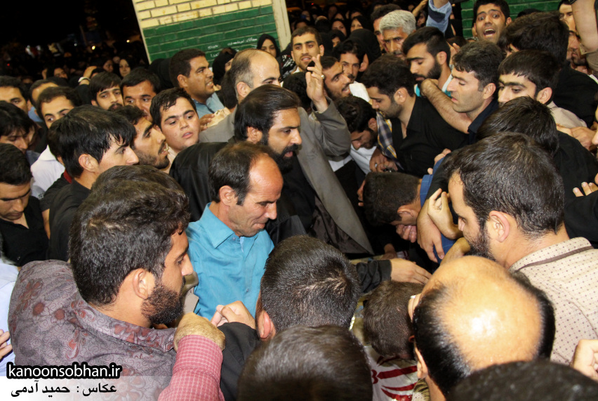 تصاویر مراسم شبی با شهدا و وداع با پیکر شهید والامقام «حاج قدرت الله عبدیان» (20)