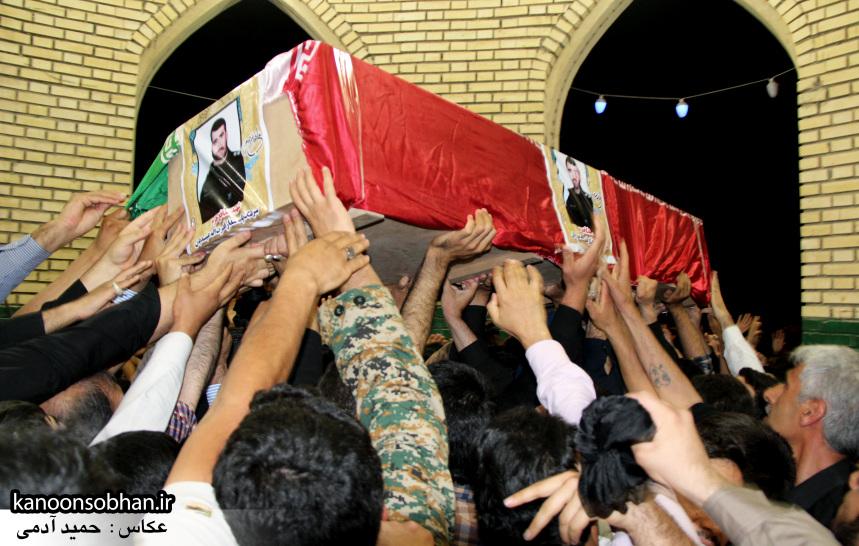 تصاویر مراسم شبی با شهدا و وداع با پیکر شهید والامقام «حاج قدرت الله عبدیان» (21)
