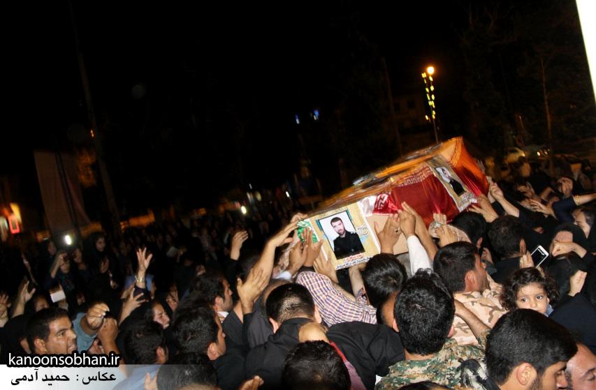 تصاویر مراسم شبی با شهدا و وداع با پیکر شهید والامقام «حاج قدرت الله عبدیان» (22)