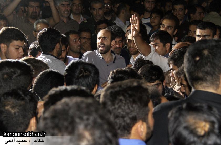 تصاویر مراسم شبی با شهدا و وداع با پیکر شهید والامقام «حاج قدرت الله عبدیان» (23)