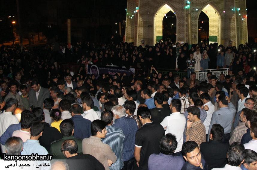 تصاویر مراسم شبی با شهدا و وداع با پیکر شهید والامقام «حاج قدرت الله عبدیان» (25)