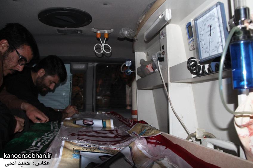 تصاویر مراسم شبی با شهدا و وداع با پیکر شهید والامقام «حاج قدرت الله عبدیان» (28)