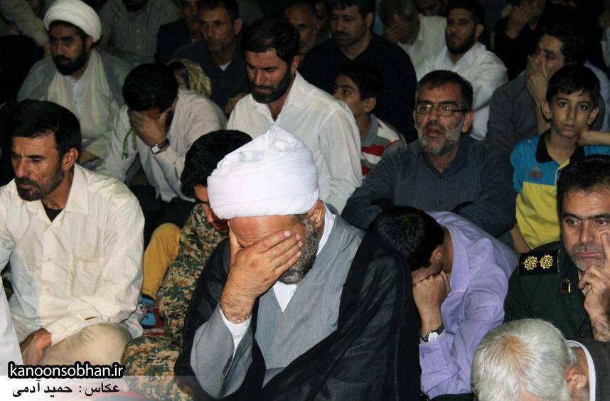 تصاویر مراسم شبی با شهدا و وداع با پیکر شهید والامقام «حاج قدرت الله عبدیان» (4)