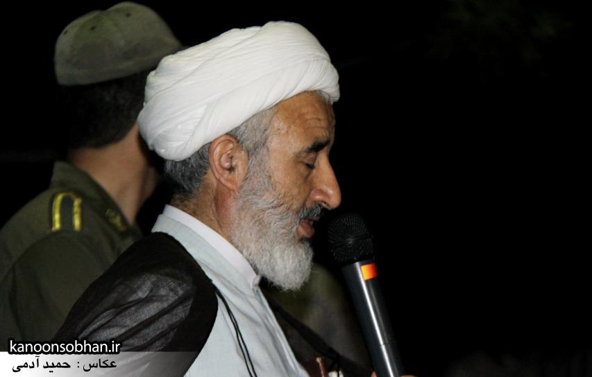 تصاویر مراسم شبی با شهدا و وداع با پیکر شهید والامقام «حاج قدرت الله عبدیان» (6)