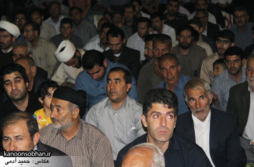 تصاویر مراسم شبی با شهدا و وداع با پیکر شهید والامقام «حاج قدرت الله عبدیان» (7)