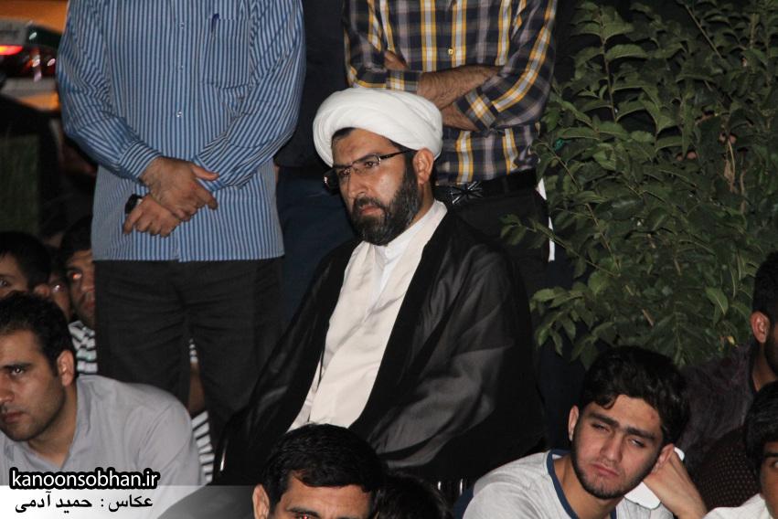 تصاویر مراسم شبی با شهدا و وداع با پیکر شهید والامقام «حاج قدرت الله عبدیان» (9)