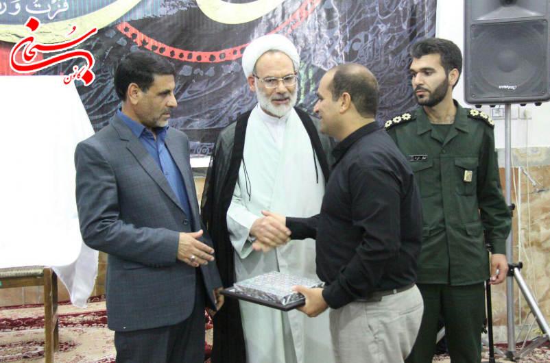 مراسم تغییر نام پایگاه شهید محلاتی به شهید عزیزپور در کوهدشت برگزار شد+عکس (1)