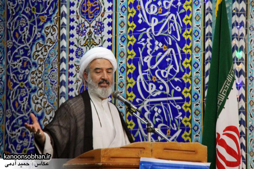 گزارش تصویری اولین نماز جمعه رمضان 95 کوهدشت (2)