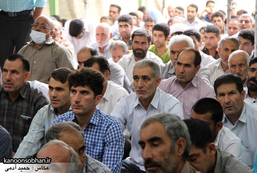 گزارش تصویری اولین نماز جمعه رمضان 95 کوهدشت (3)