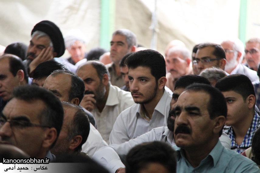 گزارش تصویری دومین نماز جمعه رمضان ۹۵ کوهدشت (1)