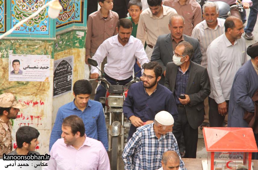 گزارش تصویری دومین نماز جمعه رمضان ۹۵ کوهدشت (67)