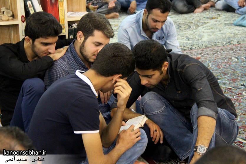 گزارش تصویری مراسم شب قدر در مسجد حضرت صاحب الزمان(عج) کوهدشت (10)