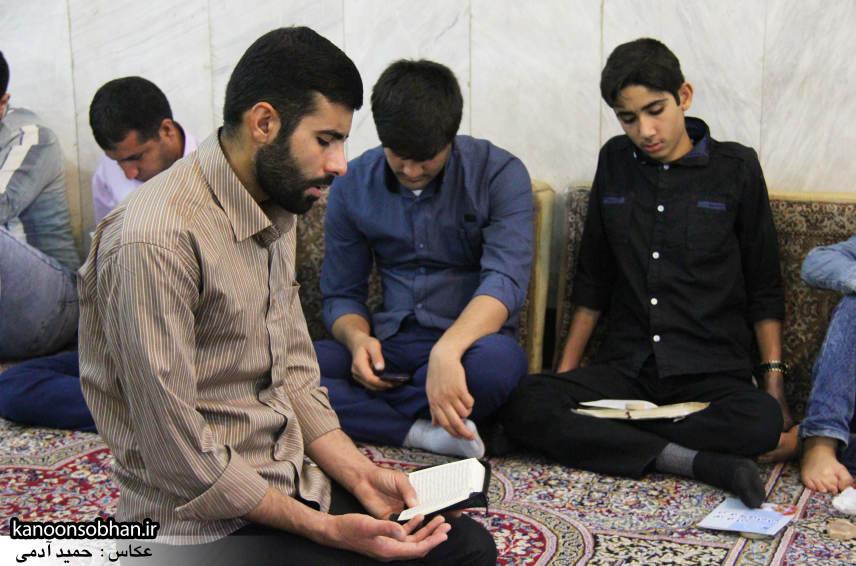 گزارش تصویری مراسم شب قدر در مسجد حضرت صاحب الزمان(عج) کوهدشت (12)
