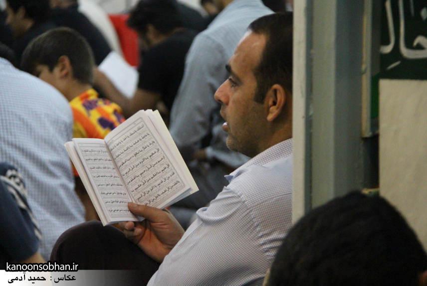 گزارش تصویری مراسم شب قدر در مسجد حضرت صاحب الزمان(عج) کوهدشت (14)
