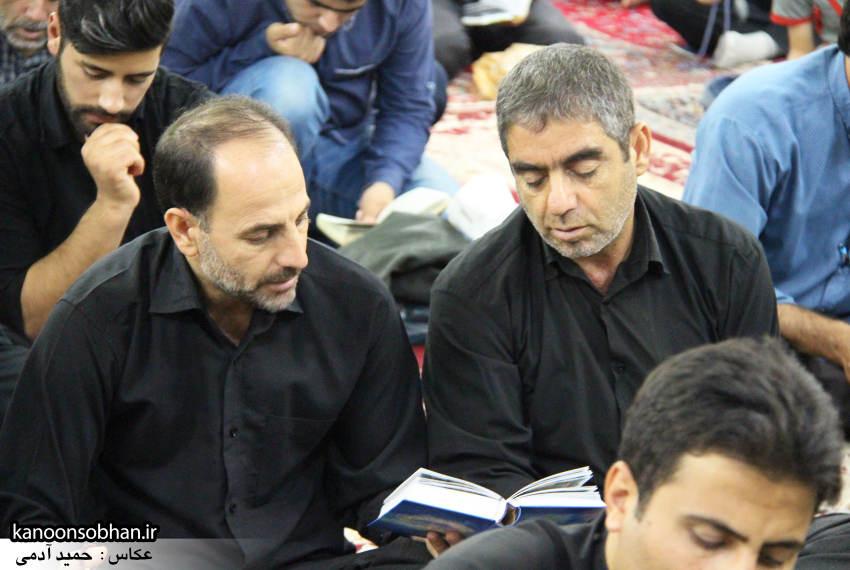 گزارش تصویری مراسم شب قدر در مسجد حضرت صاحب الزمان(عج) کوهدشت (2)