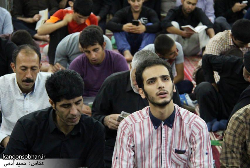 گزارش تصویری مراسم شب قدر در مسجد حضرت صاحب الزمان(عج) کوهدشت (3)