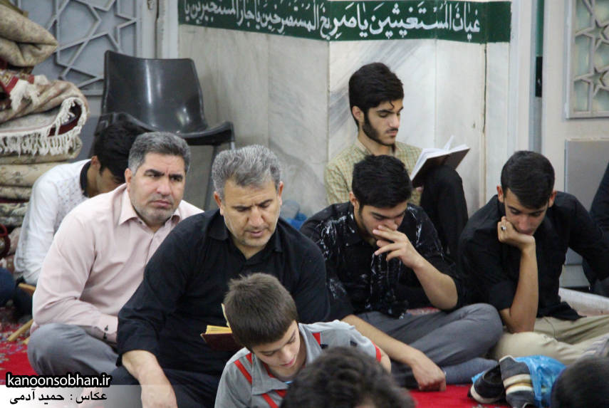 گزارش تصویری مراسم شب قدر در مسجد حضرت صاحب الزمان(عج) کوهدشت (4)