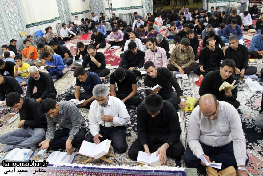 گزارش تصویری مراسم شب قدر در مسجد حضرت صاحب الزمان(عج) کوهدشت (5)
